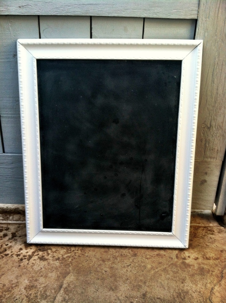 diy large framed chalkboard craftiness ambitions pint