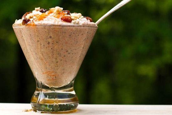 Carrot Cake Raw Buckwheat Porridge & Sugar-Free 'Carob Puff ...