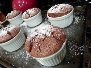 Chocolate-Espresso Mini Souffles Recipes — Dishmaps
