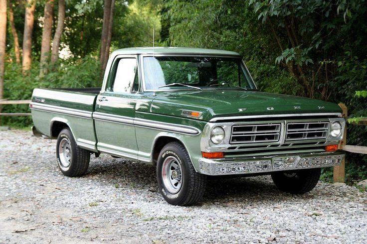 1971 ford f100 ranger xlt trucks