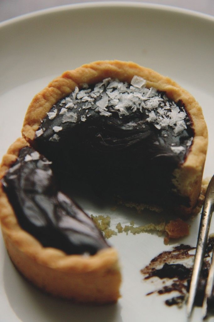 Chocolate Truffle Tarts | For the taste buds | Pinterest