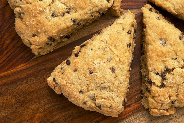 Chocolate Chip-Hazelnut Scones. | My Weakness | Pinterest