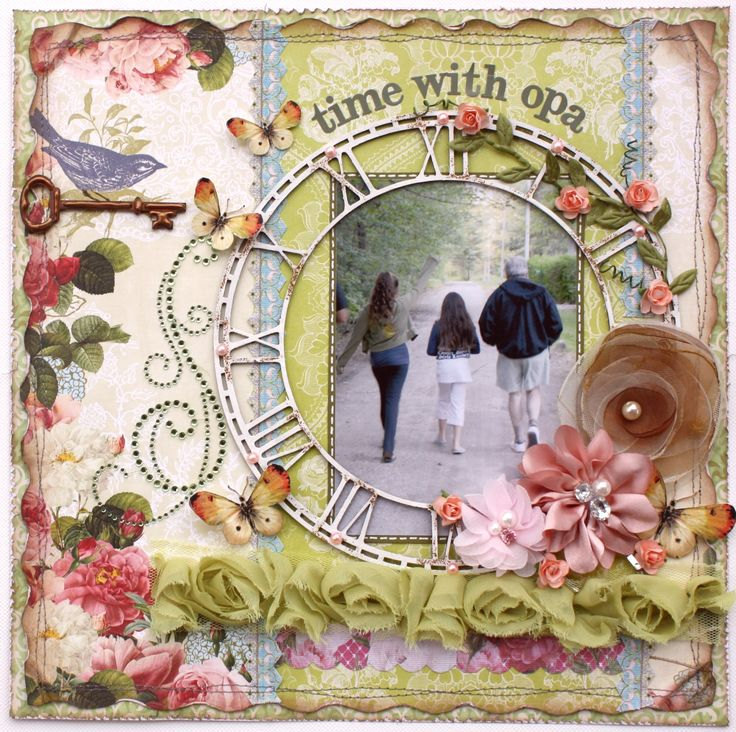 Time with Opa **Webster's Pages & Dusty Attic!** - Scrapbook.com