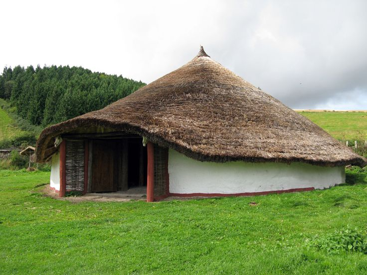 thatched roof round house t p landscape inspiration