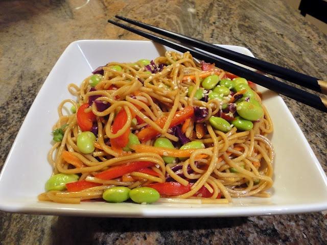 ... salad soba noodles fresh vegetables soba noodle cold soba noodle salad