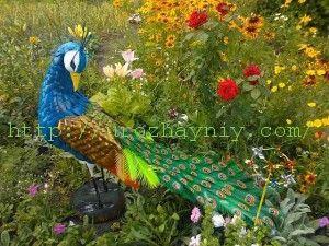 Голубь королевский из пластиковых бутылок мастер класс
