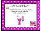 How Big is a Foot measurement activity