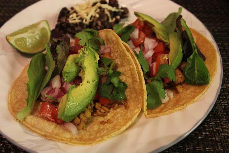 Tempeh Tacos...tried...good! | Tacos | Pinterest
