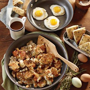 Fried Eggs with Rosemary Potatoes | Williams-Sonoma