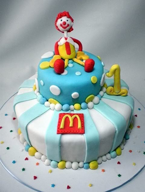 Birthday Cake For Ronald : Ronald McDonald Birthday Cake Mascot or Character ...