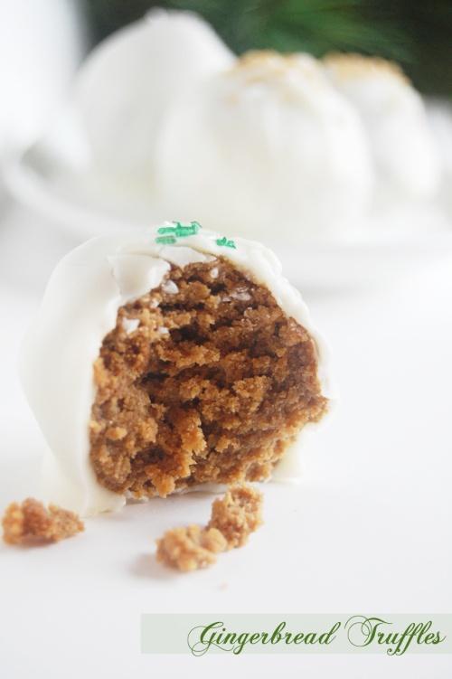 Holiday Gingerbread Truffles | Favorite Recipes | Pinterest