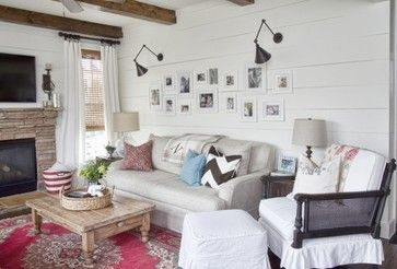 Birmingham Highway - farmhouse - living room - atlanta - Julie Holloway