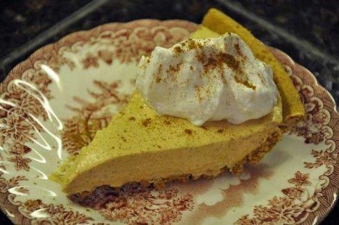 Pumpkin Spice No-Bake Cheesecake (Weight Watcher's Recipe!)