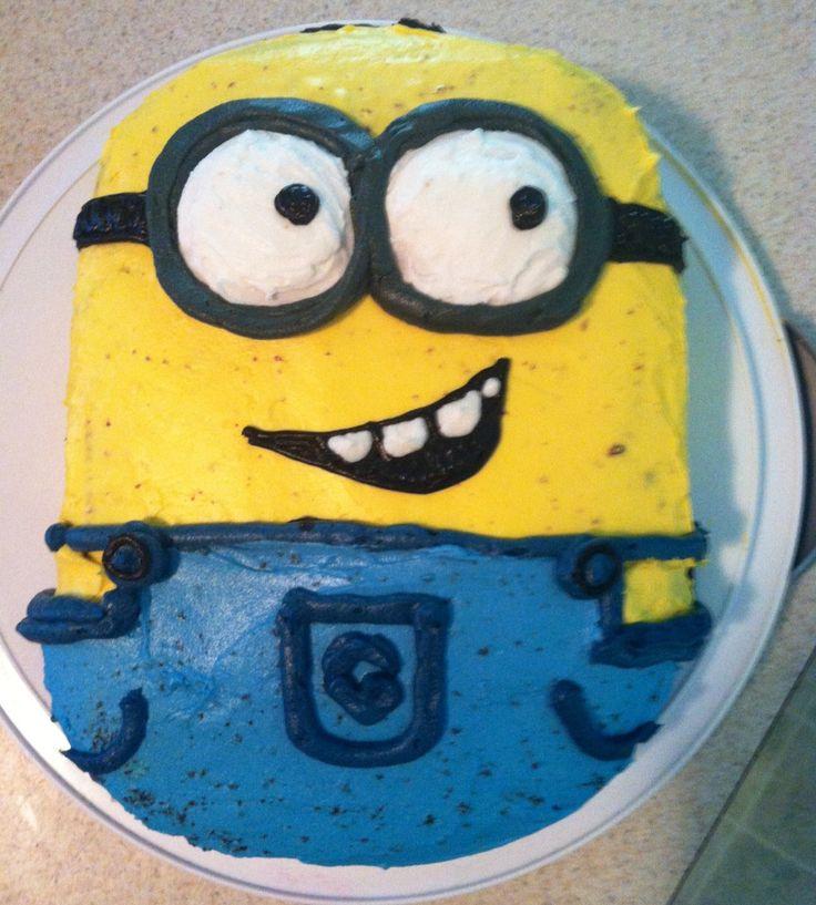 Minion Cake Design Pinterest : Minion Cake! Cake ideas Pinterest