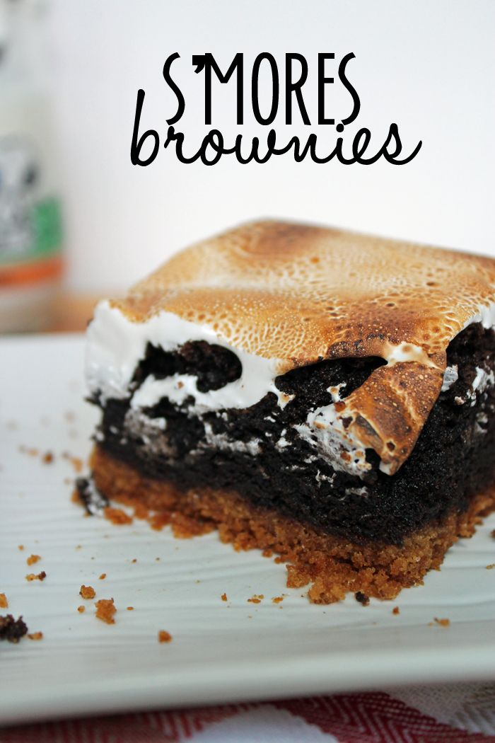 S'mores Brownies | Yum In My Tum:P | Pinterest