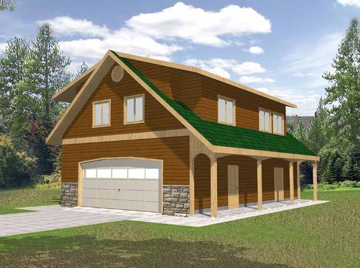 Two story garage plans google search home design for 2 story workshop plans