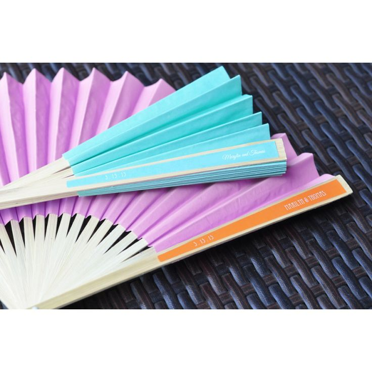 custom paper fans