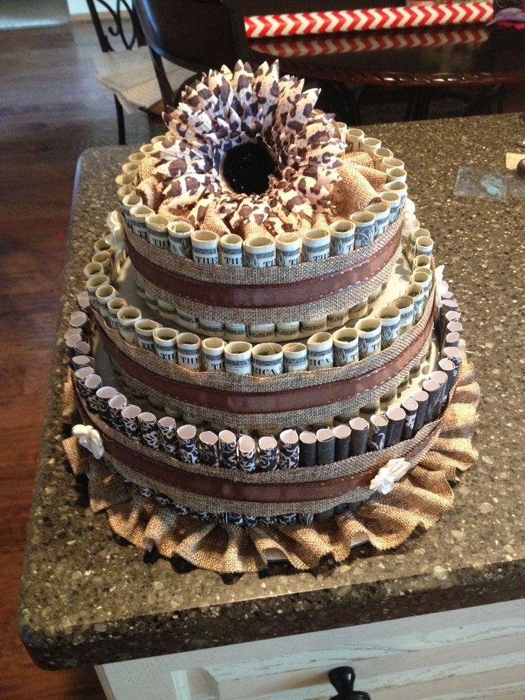 Money tree wedding cake ideas and designs - Money cake decorations ...