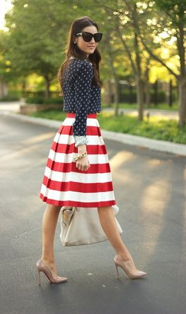 4th of July Fashion Inspiration #vfbestdressed