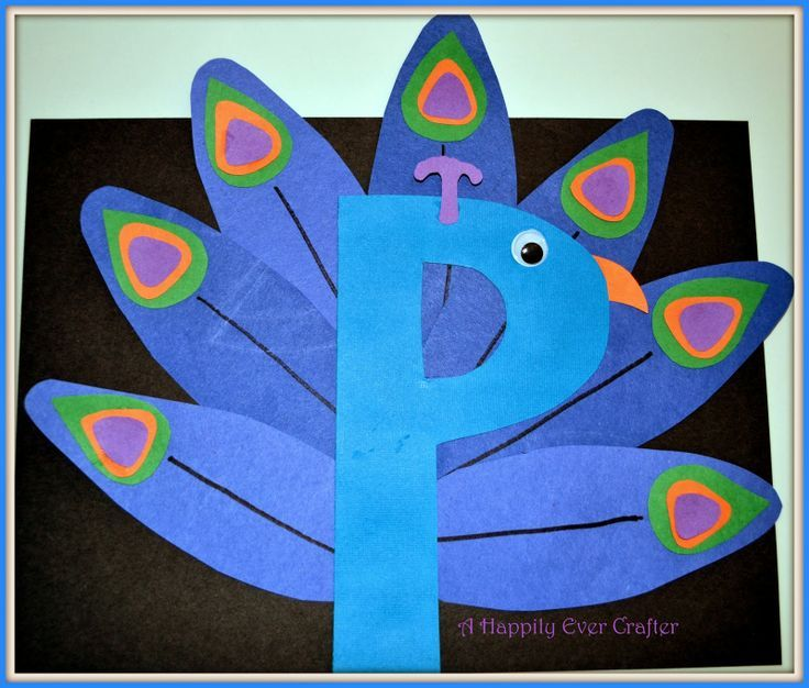 Letter P Crafts | Letter P Craft | **PD** | Pinterest