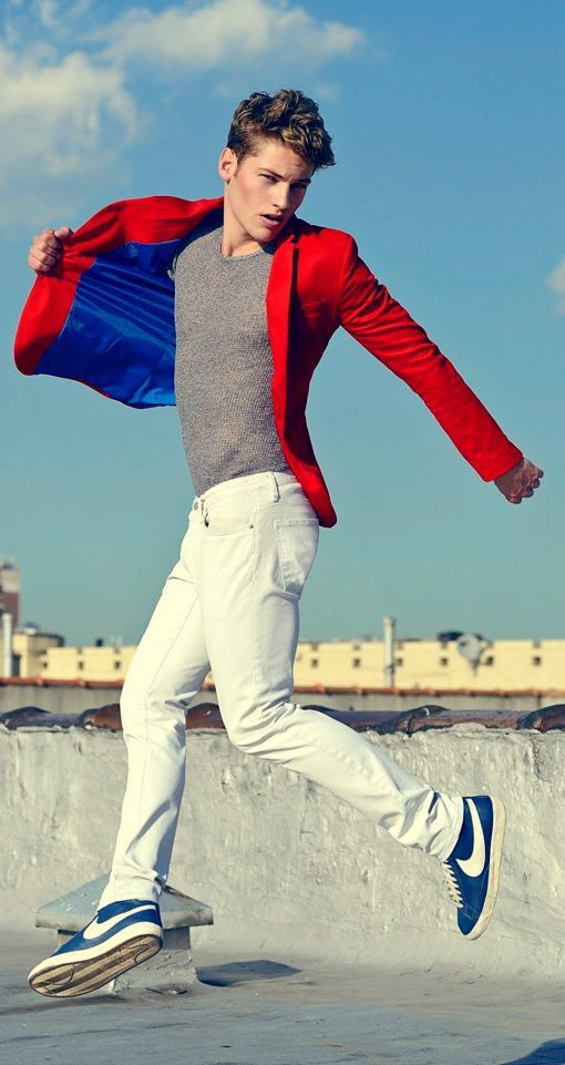 WHITE. RED. BLUE. FRESH