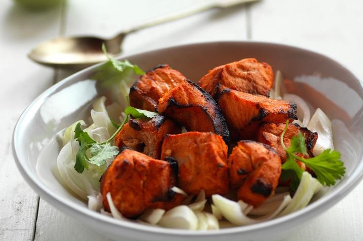 salmon tikka | Food Photography | Pinterest
