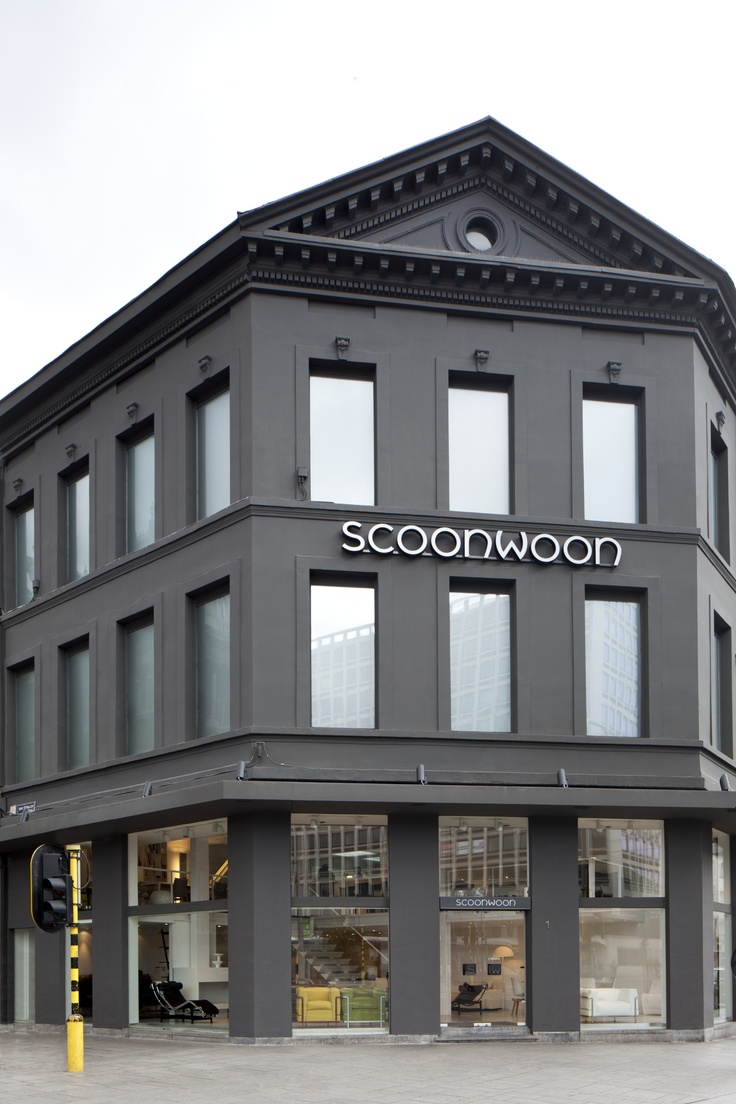 Facade scoonwoon for Interieur winkel antwerpen