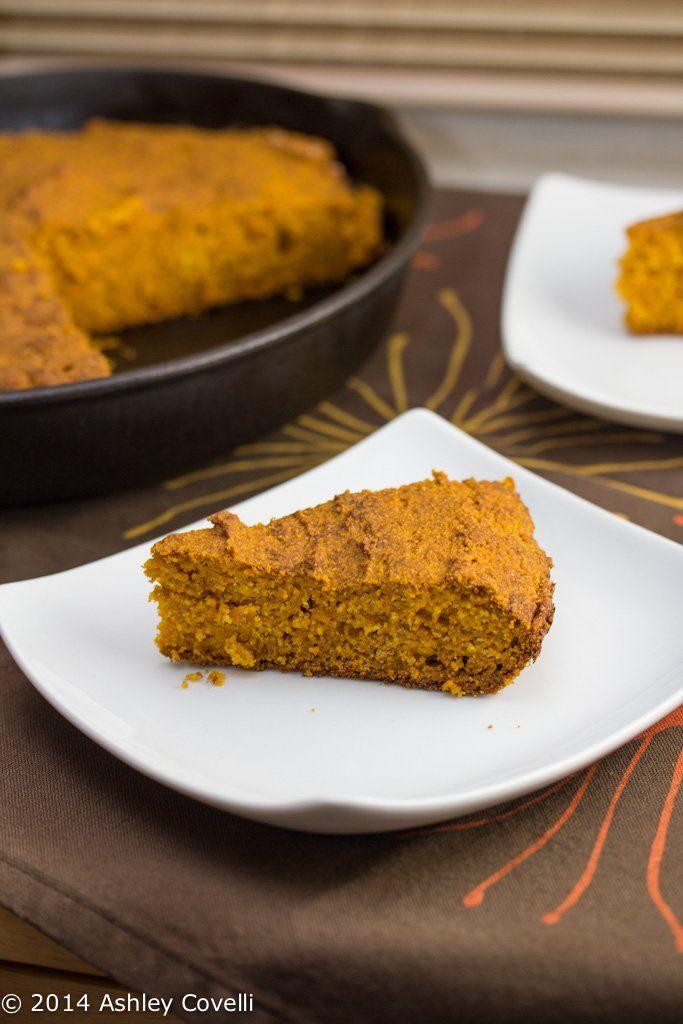 Pumpkin Corn Bread | Big Flavors From A Tiny Kitchen | Pinterest
