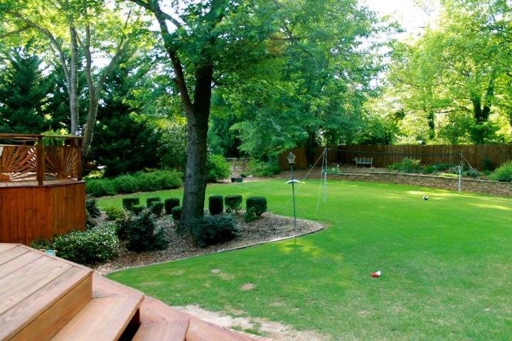 Big Flat Backyard Ideas : Big flat back yard  Outdoor Design  Pinterest