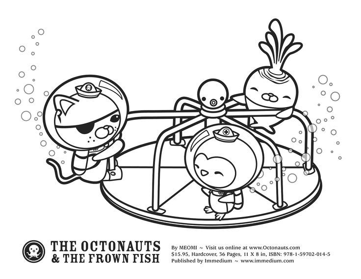 octonauts gup x coloring pages - photo#20