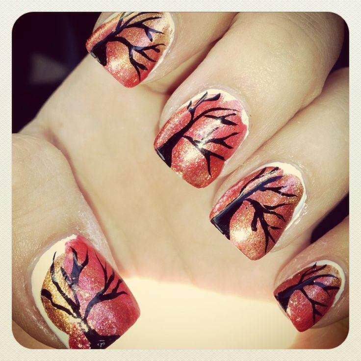 The Extraordinary Fall nail designs Digital Imagery