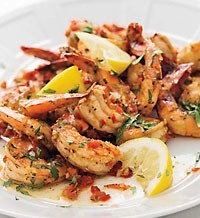 Creole Shrimp with Garlic and Lemon-This website is incredible!!