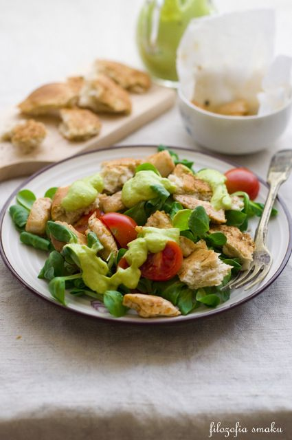 Chicken Salad with Avocado Dressing | Heather Food Stuff and Drinks ...