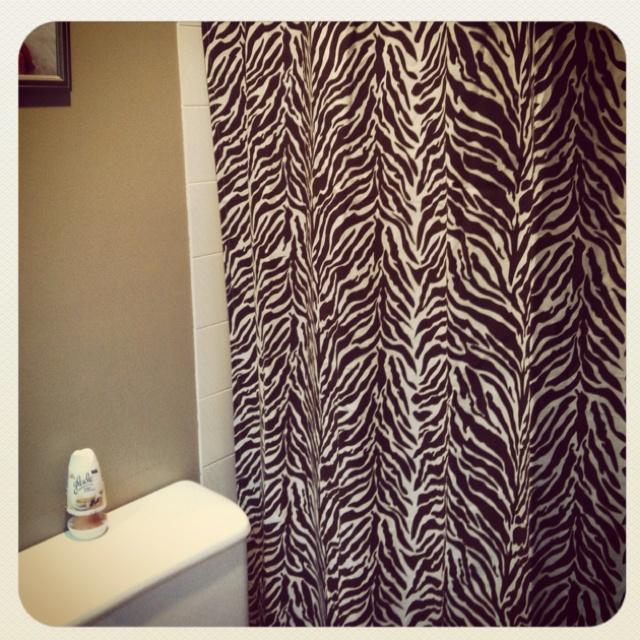 animal print shower curtain home pinterest
