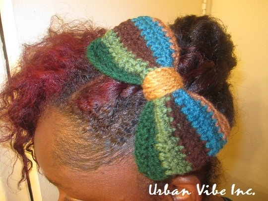 Crochet Hair Urban : Urban Fall In love Collection Crochet Hair Bow / by snchastang25, $10 ...