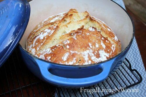 Basic No-Knead Bread | Bread | Pinterest