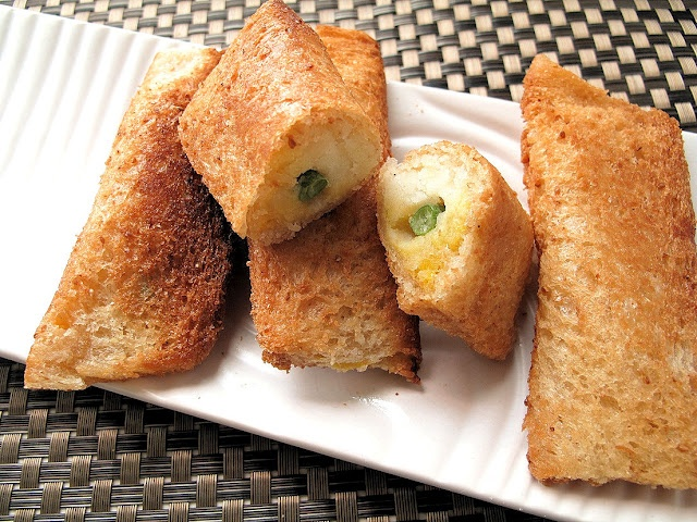 Mashed Potato Spring Rolls. | Kenzieee's Life :) | Pinterest