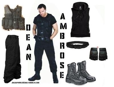 Dean Ambrose Costume