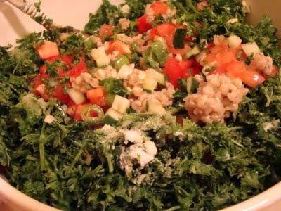 Buckwheat Tabbouleh and Hummus Wrap | Dinner | Pinterest