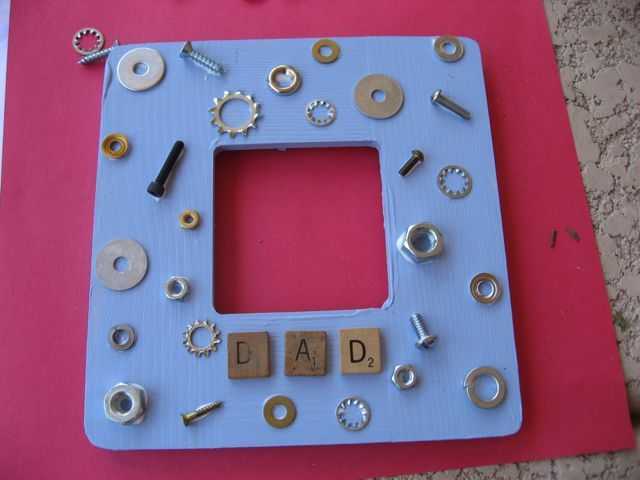 father's day frame from bump
