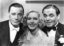 If You Could Only Cook is a 1935 screwball comedy of mistaken identity starring Herbert Marshall as a frustrated automobile executive and Jean Arthur as a young woman who talks him into posing as her husband so they can land jobs as a butler and a cook. Herbert Marshall, Jean Arthur, & Leo Carrillo.