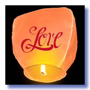 valentine day lantern festival