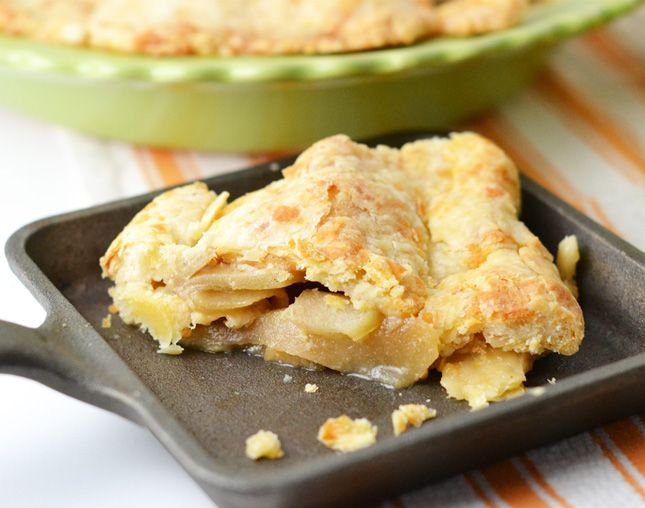 Fall Foodie Classics: Apple Pie with a Cheddar Crust. Sounds amazing!