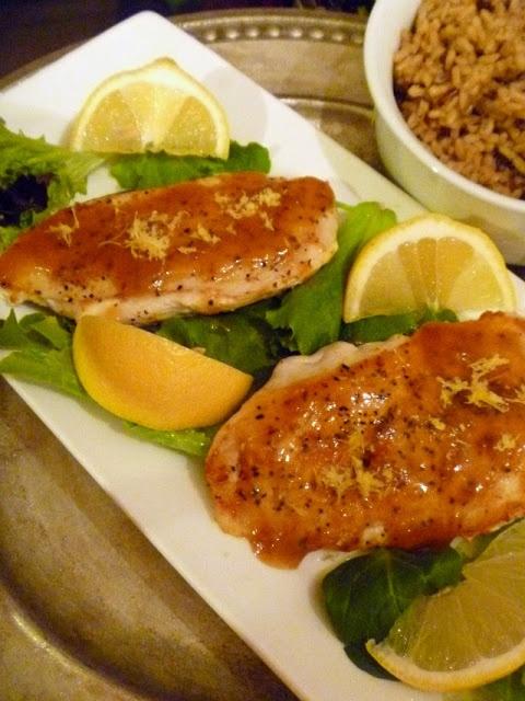 Slice of Southern: Apricot Lemon Chicken | poultry | Pinterest