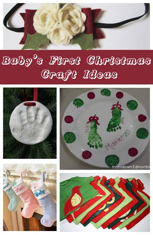 Christmas Craft Ideas For Babies Part - 19: Christmas Craft Ideas Babies: Baby Holiday Craft Easy Footprint .