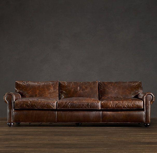 Leather Sectional Sofa Restoration Hardware: Restoration Hardware Sofa