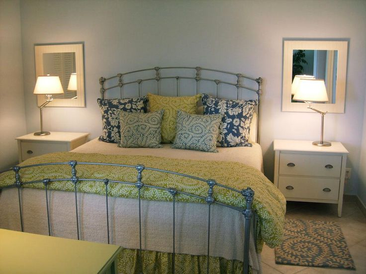 Blue and yellow bedrooms home design 2017 - Blue white yellow bedroom ...