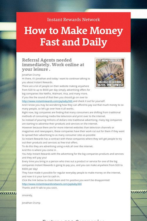How to make money fast and daily my ideas and dreams pinterest