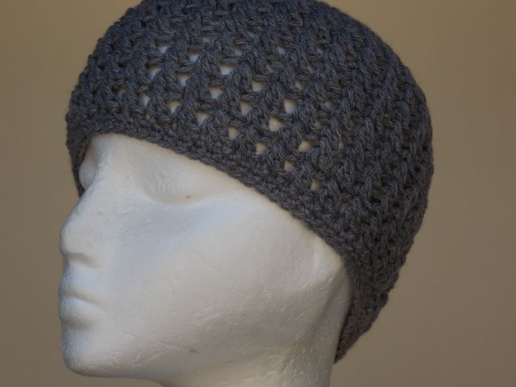 Crochet Tutorial Hat : Cross Stitch Hat Crochet Tutorial Crocheting Pinterest