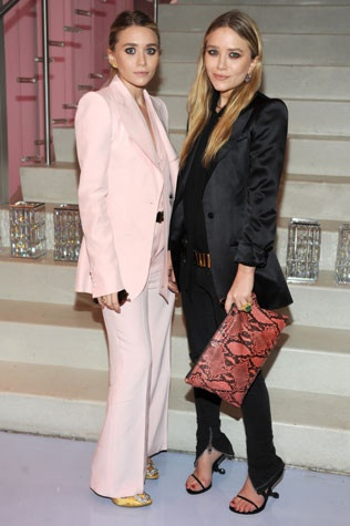olsen twins style suit chic